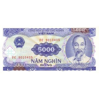 Vietnam 5000 Dong 1991 P-108