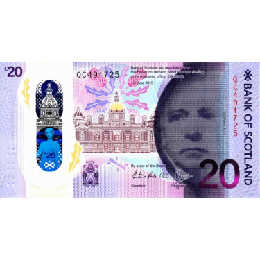 Scotland 20 Pounds 2020 -...