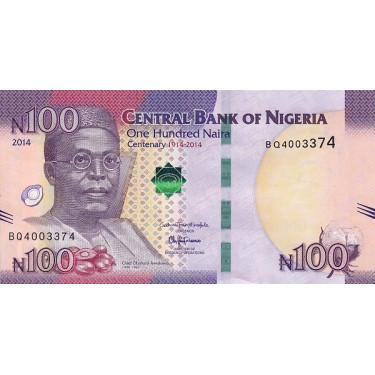 Nigeria 100 Naira 2014 P-41