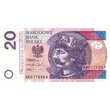 Polen 20 Zlotych 2016 P-184b