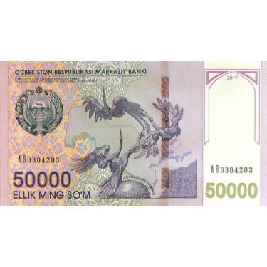 Uzbekistan 50 000 Som 2017...