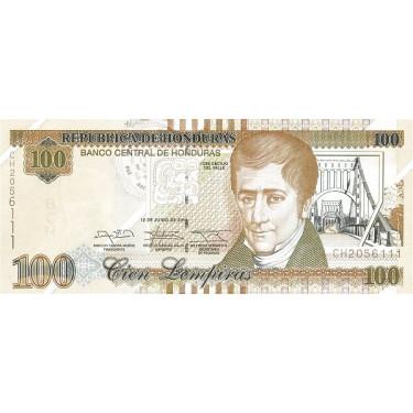 Honduras 100 Lempiras 2014...
