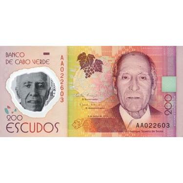 Kap Verde 200 Escudos 2014...