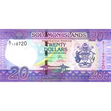 Solomon Islands 20 Dollars...