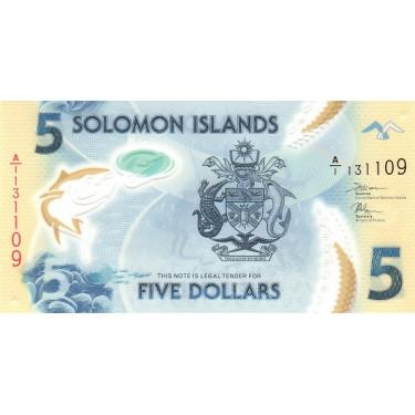 Salomonöarna 5 Dollars 2019...