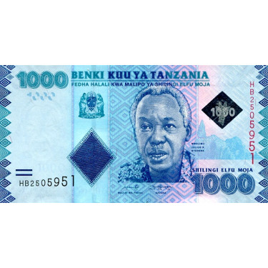 Tanzania 1000 Shillings...