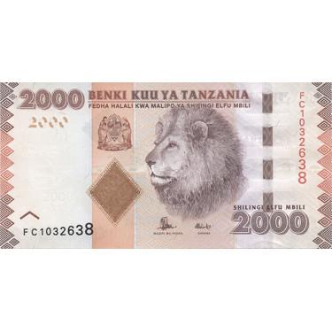 Tanzania 2000 Shillings...