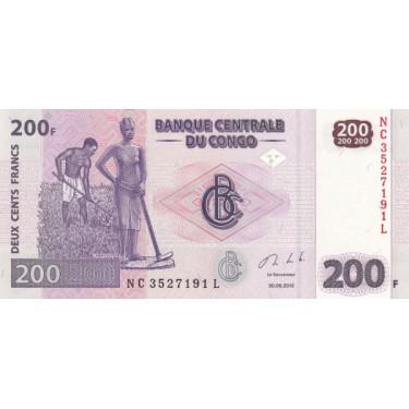 Congo 200 Francs 2013 P-99b