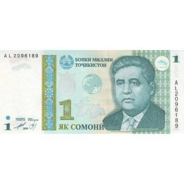 Tadzjikistan 1 Somoni 1999...