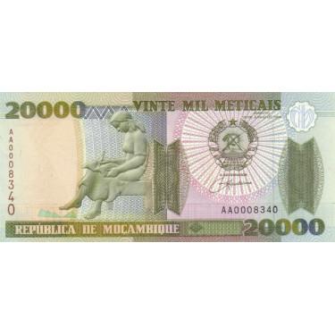 Mozambique 20000 Meticais...