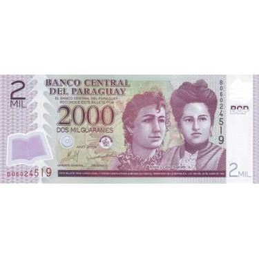 Paraguay 2000 Guaranies...