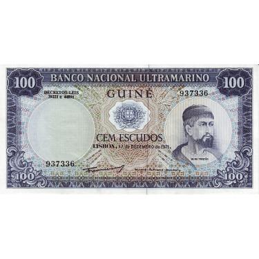 Portuguese Guinea 100...