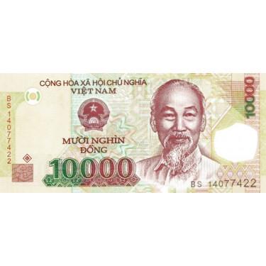Vietnam 10000 Dong 2014 P-119h