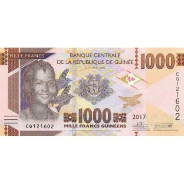 Guinea 1000 Francs 2017 P-48b