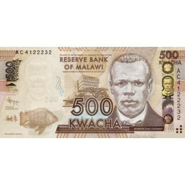 Malawi 500 Kwacha 2012 P-61a