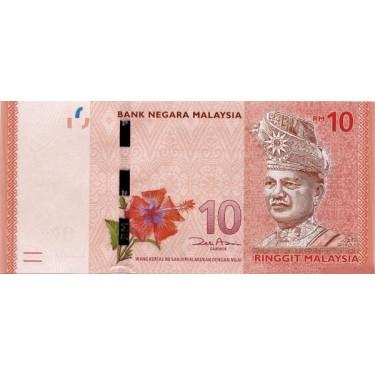 Malaysia 10 Ringgit ND 2011...