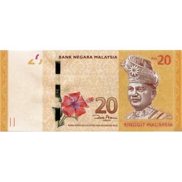 Malaysia 20 Ringgit ND 2011...