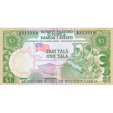 Västra Samoa 1 Tala ND 1980...
