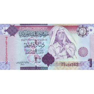 Libya 1 Dinar 2009 P-71