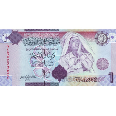 Libyen 1 Dinar 2009 P-71