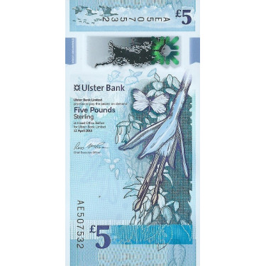 Nordirland 5 Pounds Ulster...