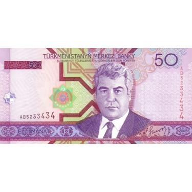 Turkmenistan 50 Manat 2005...