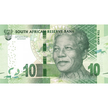 South Africa 10 Rand ND...