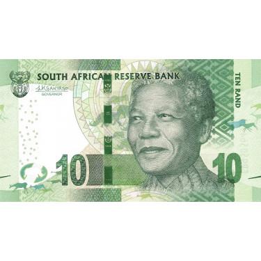Sydafrika 10 Rand ND 2015...