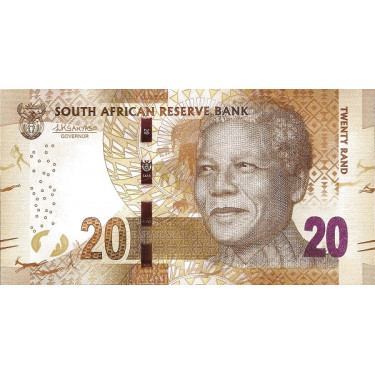 South Africa 20 Rand ND...