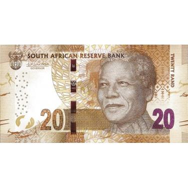 Sydafrika 20 Rand ND 2015...