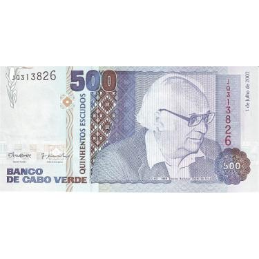 Kap Verde 500 Escudos 2002...