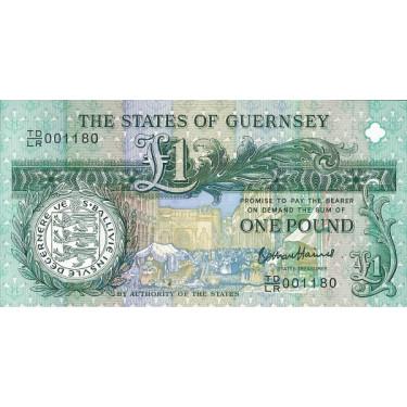 Guernsey 1 Pound 2013 P-62