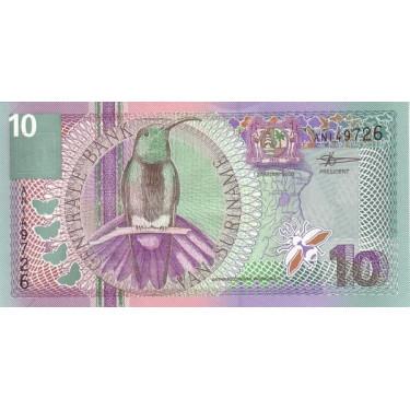 Suriname 10 Gulden 2000 P-147