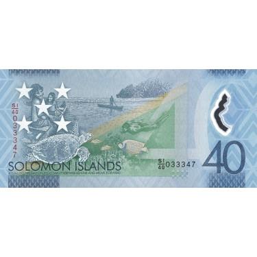 Solomon Islands 40 Dollars...