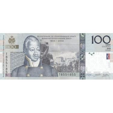 Haiti 100 Gourdes 2014 P-275e