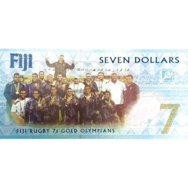 Fiji 7 Dollars 2016 P-120