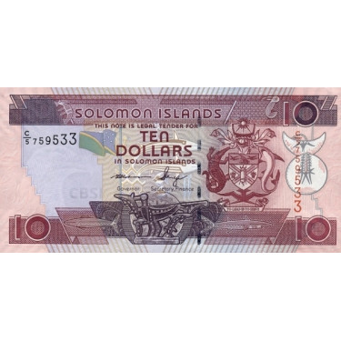 Solomon Islands 10 Dollars...