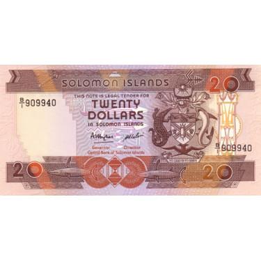 Salomonöarna 20 Dollars...