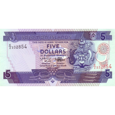 Solomon Islands 5 Dollars...