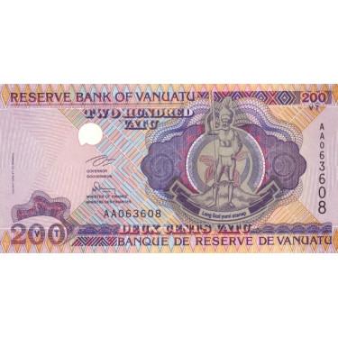 Vanuatu 200 Vatu ND 1995 P-8a