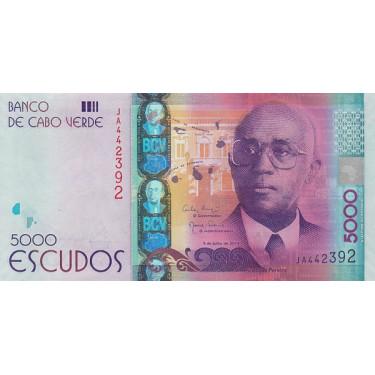 Cape Verde 5000 Escudos...