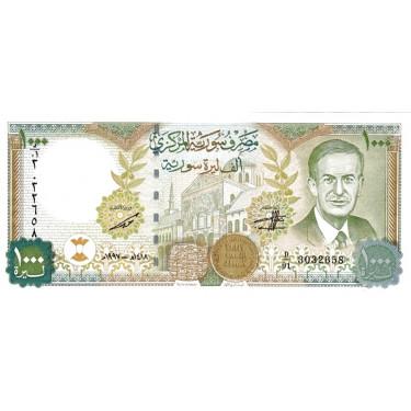 Syria 1000 Pounds 1997...
