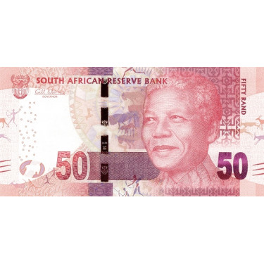 South Africa 50 Rand ND...