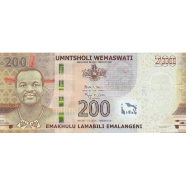 Swaziland 200 Emalangeni...