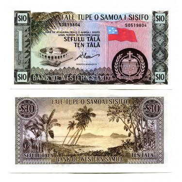 Western Samoa 10 Tala ND...