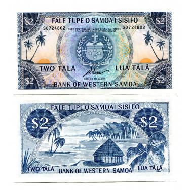 Western Samoa 2 Tala ND...