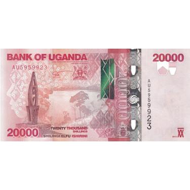 Uganda 20000 Shillings 2013...