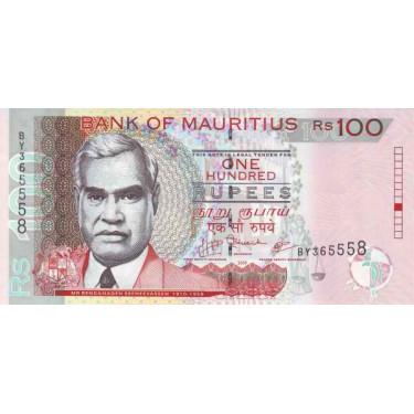 Mauritius 100 Rupees 2009...