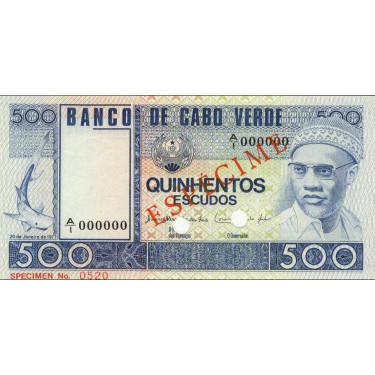 Kap Verde 500 Escudos 1977...