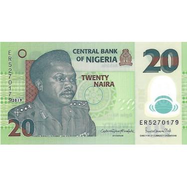 Nigeria 20 Naira 2019 P-34